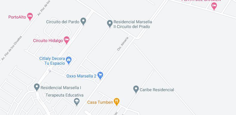 Foto Casa en Venta en  Marsella,  Solidaridad  DEPARTAMENTO EN EL CENTRO AMPLIO CON ALBERCA