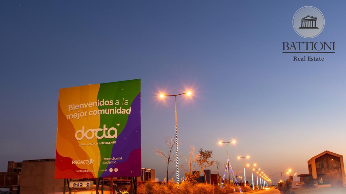 Foto Terreno en Venta en  Estación del Carmen,  Malagueño  Lotes en venta en docta Urbanización