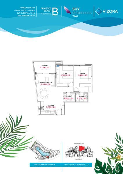 Foto Departamento en Venta en  Remeros Beach,  Countries/B.Cerrado (Tigre)  RB   SKY 2 - 1403