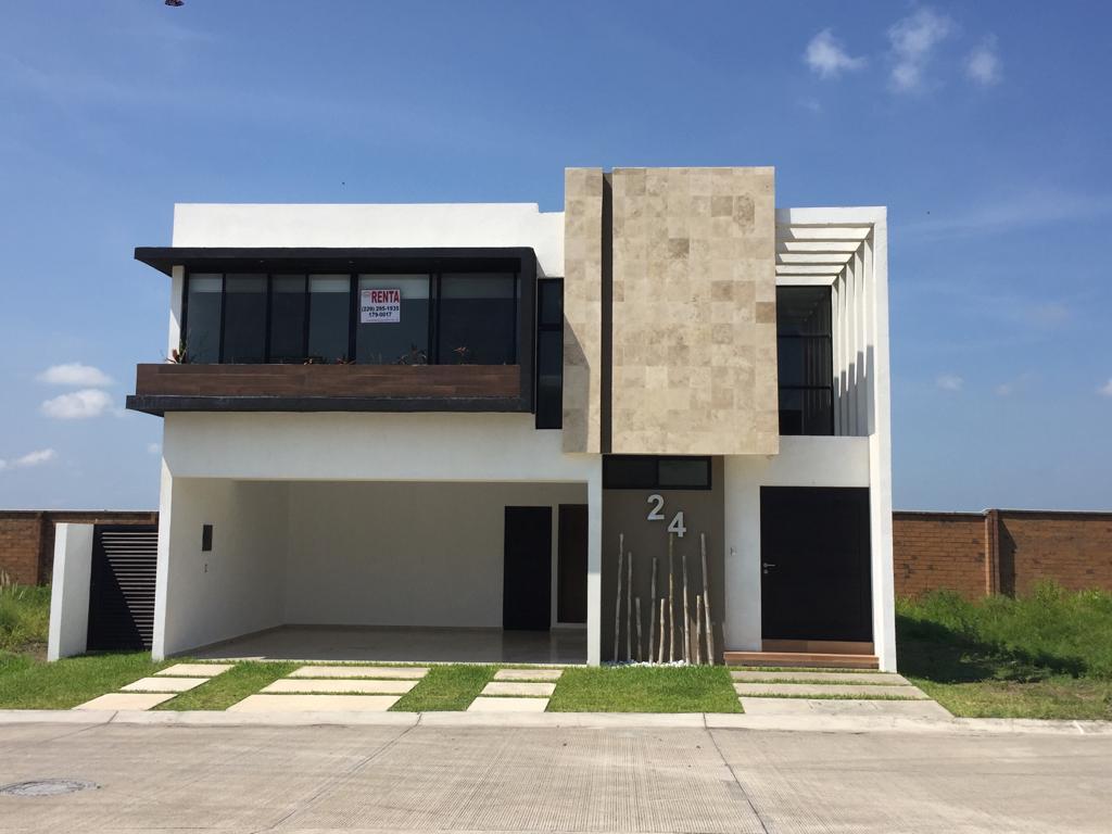 Foto Casa en Renta en  Punta Tiburón,  Alvarado  PUNTA TIBURON, Casa en RENTA con estancia familiar en planta baja y área de TV