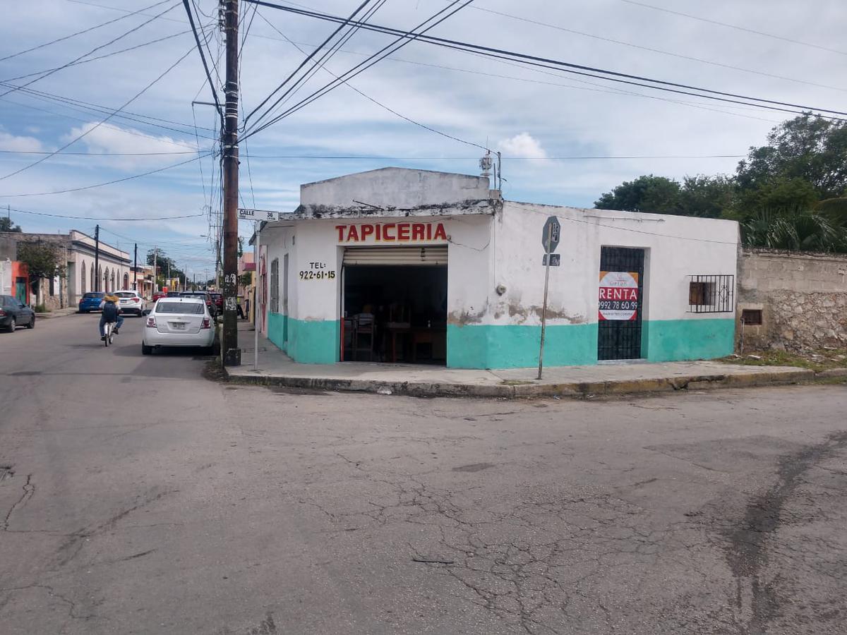 Foto Local en Renta en  Merida Centro,  Mérida          Excelente local en esquina centro para remodelar
