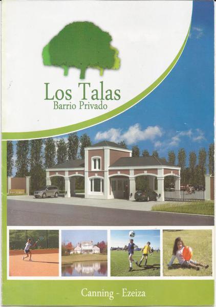 Foto Terreno en Venta en  Los Talas ,  Canning  Venta - Lote en Los Talas