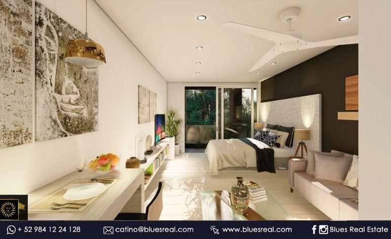 Picture Apartment in Sale in  Solidaridad ,  Quintana Roo  Studios For sale in Playa del Carmen;  A perfect place Estudio