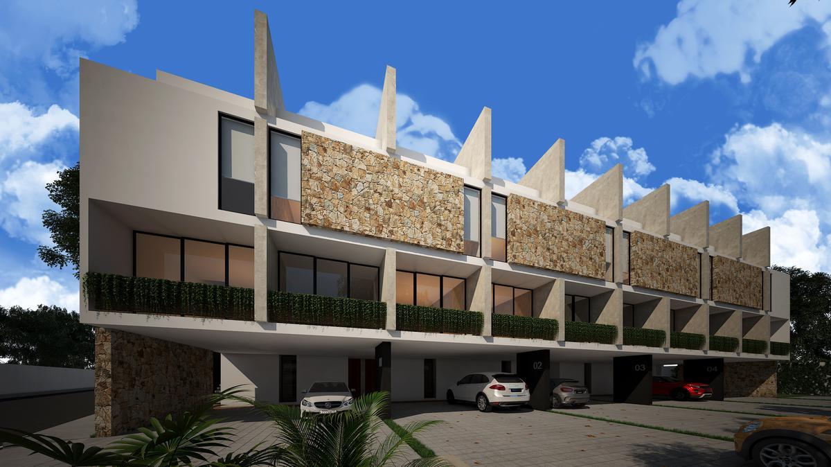 Foto Casa en condominio en Venta en  San Ramon Norte,  Mérida      PREVENTA LOFTEN SAN RAMON NORTE, 5 Departamentos y 5 Town Houses en Conjunto Privado, Mérida, Yuc.