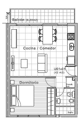 Foto Departamento en Venta en  Rosario,  Rosario      Galvez 1401 01-01