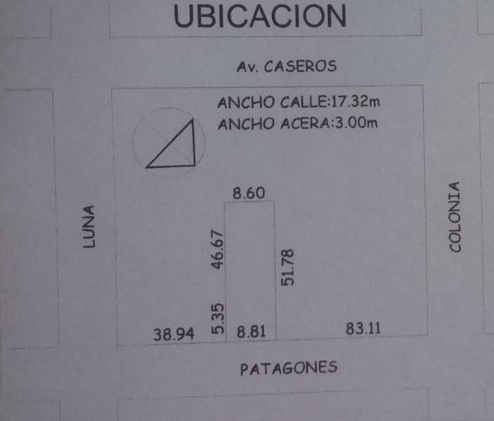 Foto Terreno en Venta en  Parque Patricios ,  Capital Federal  Patagones al 2600
