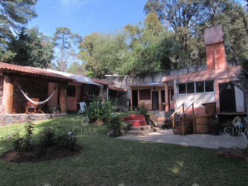 Foto Casa en Venta en  Fraccionamiento Guayacahuala,  Huitzilac  CASA DE CAMPO DE UN NIVEL - V123