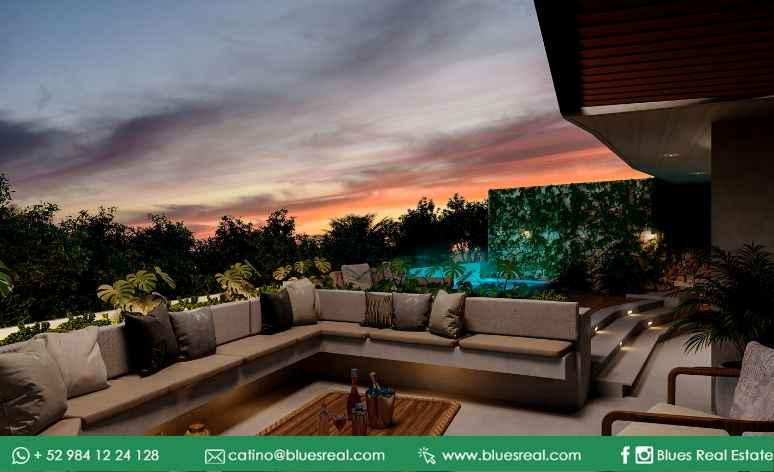 Picture Apartment in Sale in  Solidaridad ,  Quintana Roo  NEW Condo in Tulum at high Line Serenity | Blues Real | Code 645
