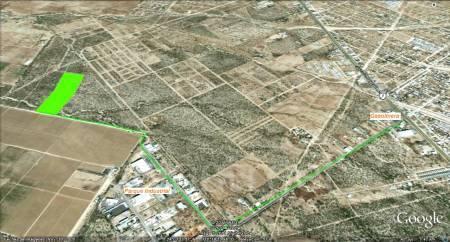 Foto Campo en Venta en  Parque Industrial,  La Paz  Parque Industrial
