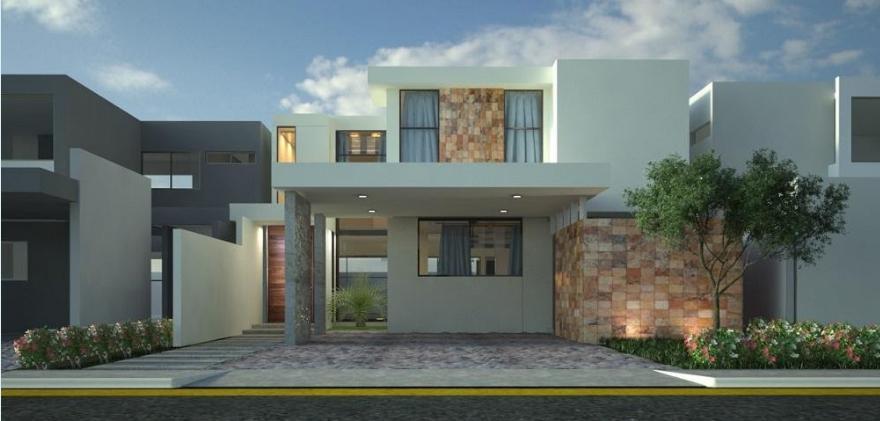 Foto Casa en Venta en  Pueblo Cholul,  Mérida  Casa en Venta en Parque Natura Ciruela 206 ¡De dos plantas con piscina!