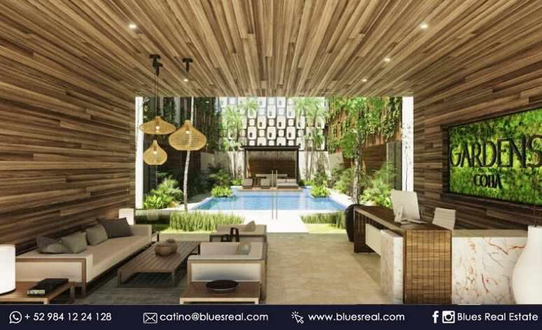 Picture Apartment in Sale in  Tulum ,  Quintana Roo  NEW Condo at Gardens Coba | Blues Real | Code 925