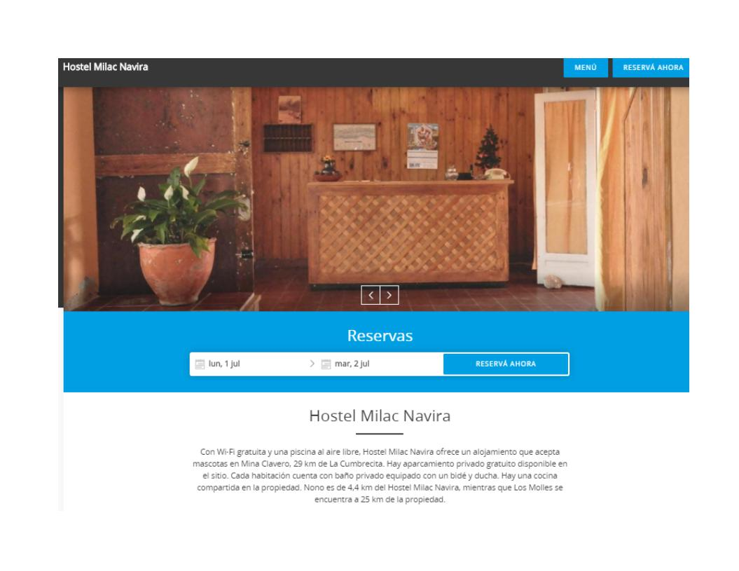Foto Hotel en Alquiler en  Mina Clavero,  San Alberto  ALQUILER HOSTEL MINA CLAVERO Valle de Traslasierra Córdoba