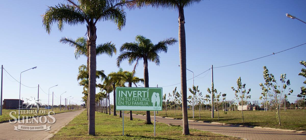 Foto Terreno en Venta en  Rosario ,  Santa Fe  Tierra de Sueño Puerto General San Martin - Lote 1247