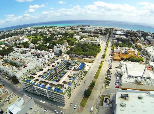 Foto Departamento en Venta en  Solidaridad ,  Quintana Roo  Venta de Departamento en venta | The city condos Playa del Carmen