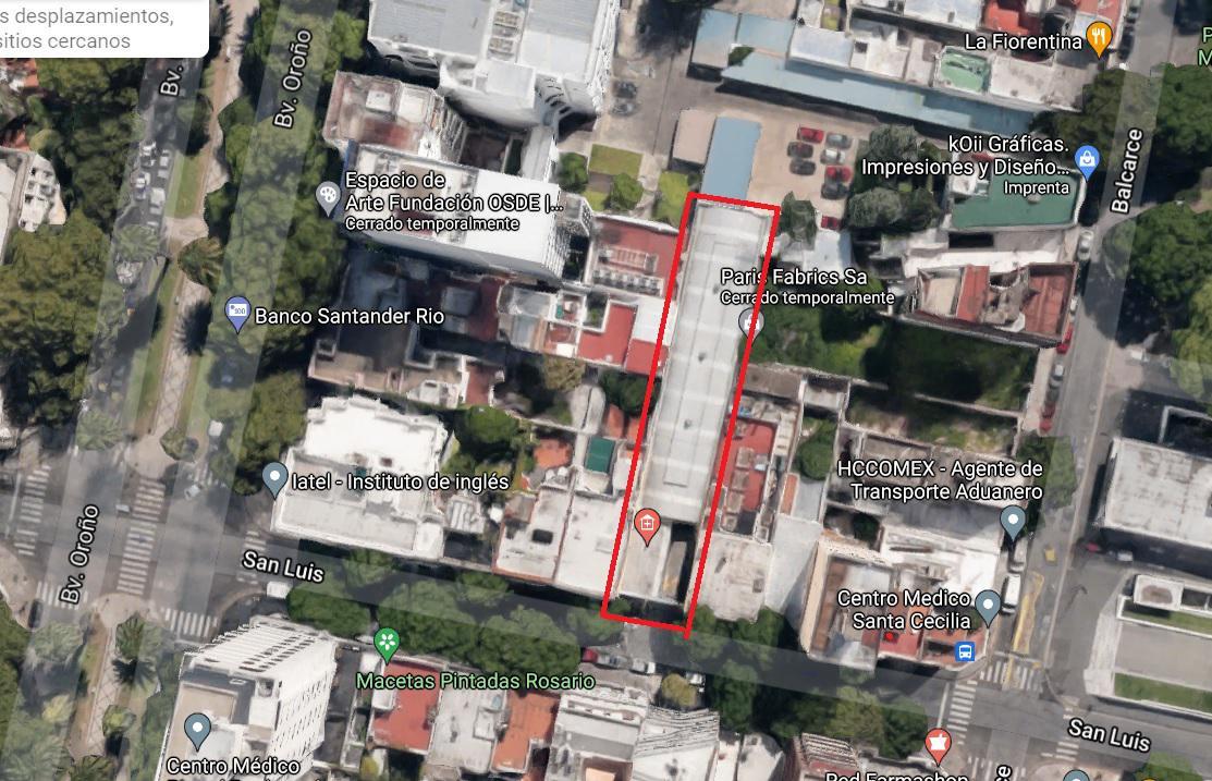 Foto Terreno en Venta en  Rosario,  Rosario  san luis al 2100