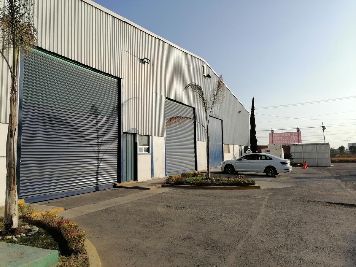 Foto Bodega Industrial en Renta en  Pueblo Sanctorum,  Cuautlancingo  Renta de Bodega o Nave Industriales en Cuautlancingo Autopista Mexico Puebla