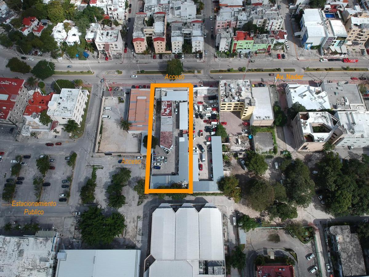 Foto Terreno en Venta | Renta en  Supermanzana 2 Centro,  Cancún  TERRENO con construccion en VENTA  con Uso de Suelo Comercial sobre Av. Nader -  Cancun