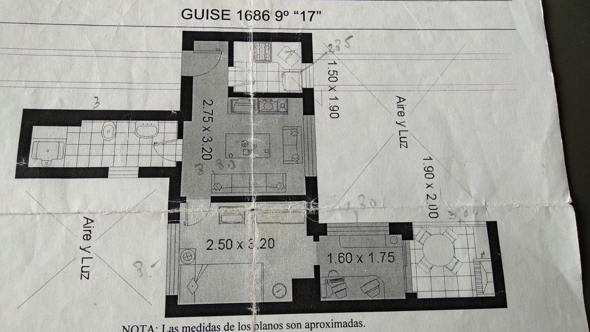 Foto Departamento en Venta en  Palermo ,  Capital Federal  guise al 1600