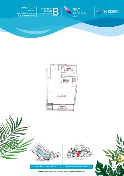 Foto Departamento en Venta en  Remeros Beach,  Rincon de Milberg  RB | SKY 1 - 1409