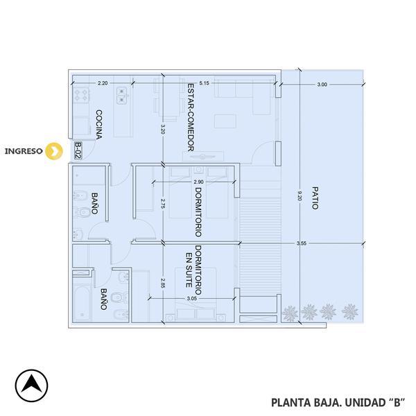 venta departamento 2 dormitorios Rosario, AYRES DE FISHERTON. Cod CBU23543 AP2216703 Crestale Propiedades