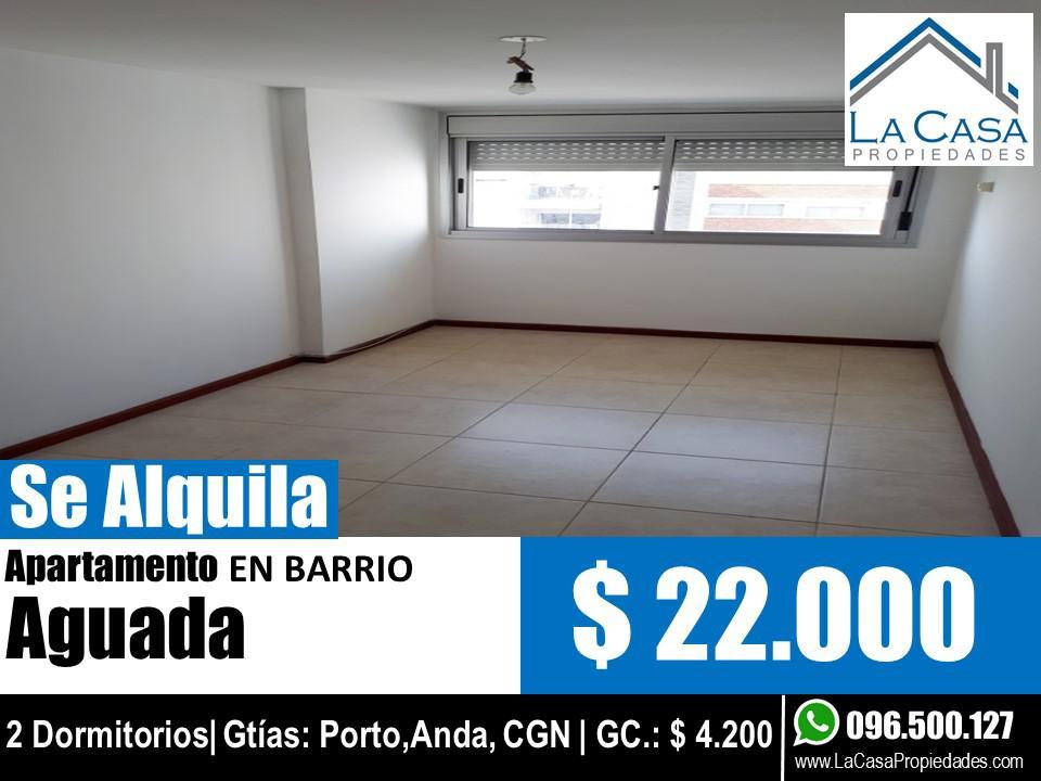 Foto Apartamento en Alquiler en  Aguada ,  Montevideo  Paraguay al 1700