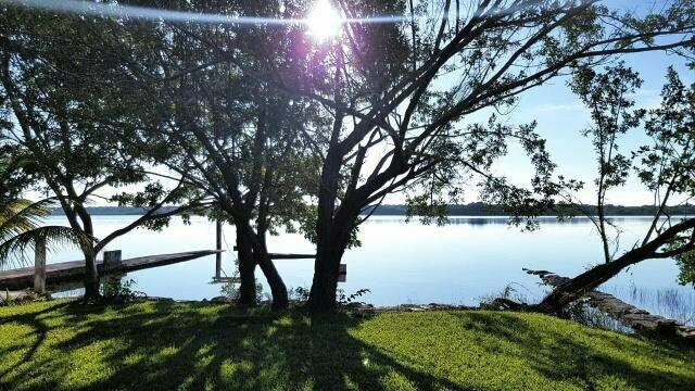 Foto Terreno en Venta en  Bacalar ,  Quintana Roo  terreno y Cabaña a orillas de  Laguna Guerrero