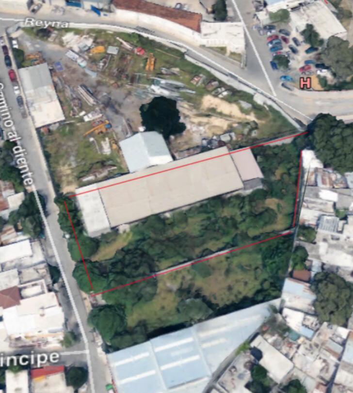 Foto Bodega Industrial en Venta en  La Condesa,  Monterrey  VENDO TERRENO CON BODEGA POR CARRETERA NACIONAL COLONIA LA CONDESA
