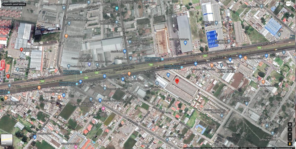 Foto Bodega en Alquiler en  Calderón,  Quito  Calderon Panamericana Norte se alquila bodega de al 10000