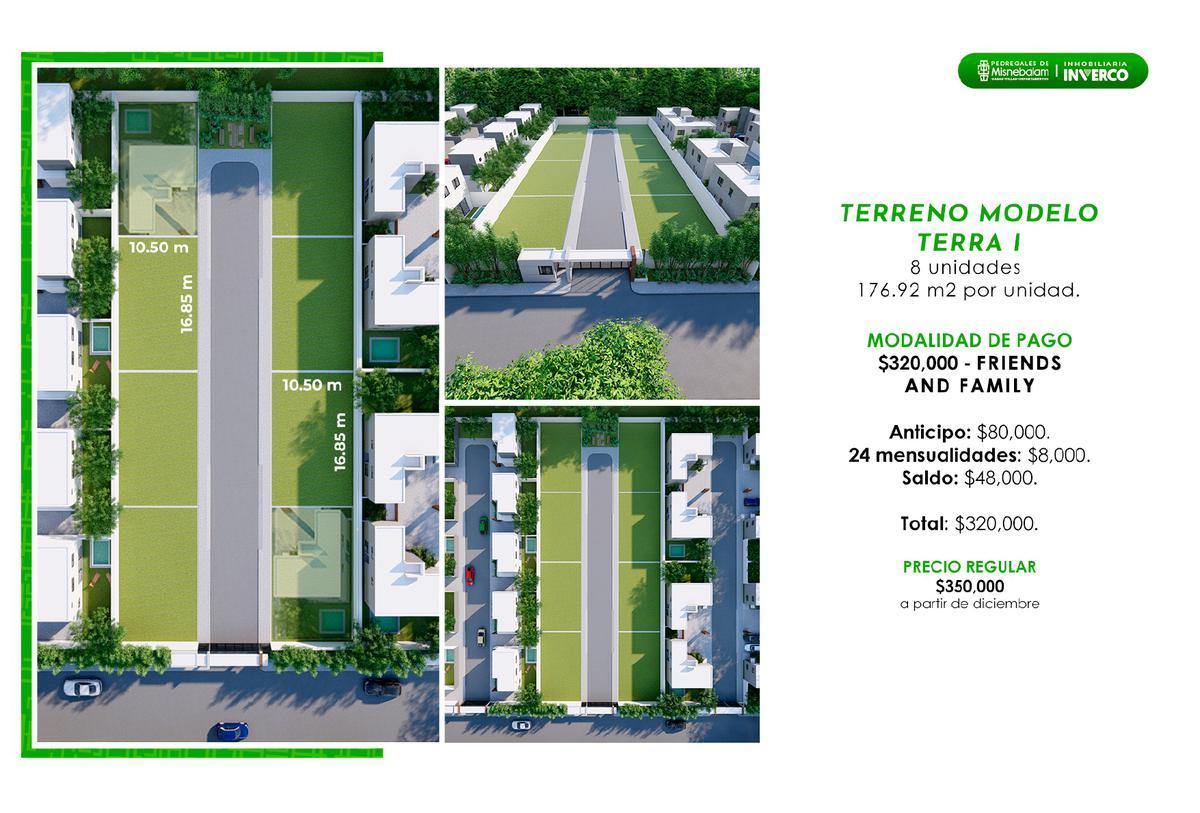 Foto Terreno en Venta en  Pueblo Misnebalam,  Progreso  Terrenos  en Preventa, Merida, Pedregales de Misnebalam ¡Dentro de Privadas!