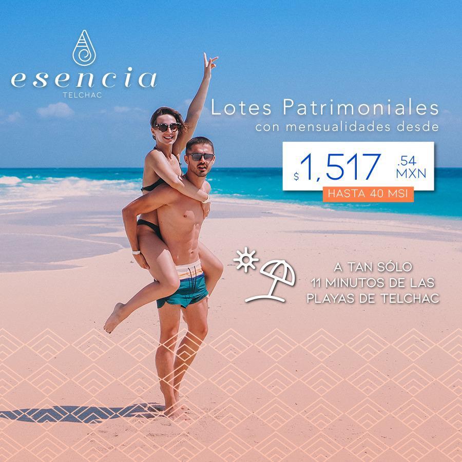 Foto Terreno en Venta en  Telchac Puerto ,  Yucatán  Lote en venta en Mérida, Esencia invierte en Telchac a 10 minutos de la playa.