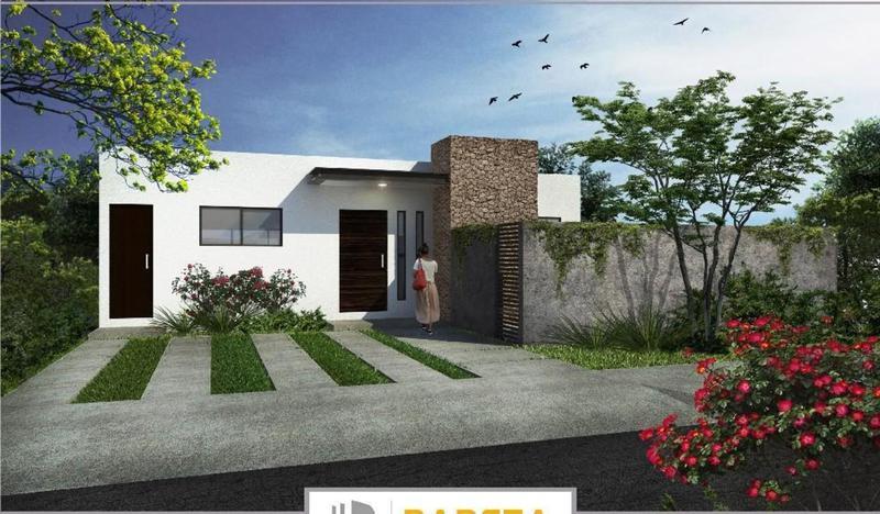 Foto Casa en Venta en  Conkal ,  Yucatán  Casa de 1 Planta en Privada Kanan (Mod Caoba) 2 REC