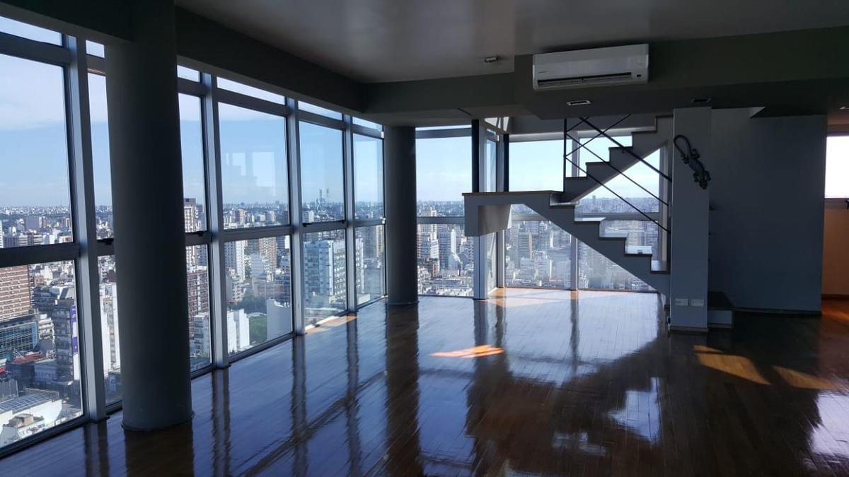 Foto Departamento en Venta |  en  Belgrano R,  Belgrano  LMO Fabuloso Penthouse Piso 30 AAA  en TORRE UNION Belgrano R Piscina SUM Parrillas