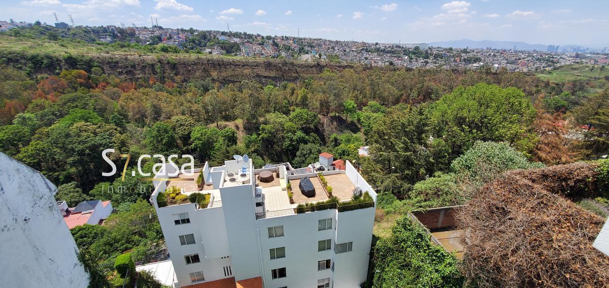 Foto Departamento en Renta en  Lomas de las Aguilas,  Alvaro Obregón  Departamento en renta Lomas de las Aguilas, excelente vista.