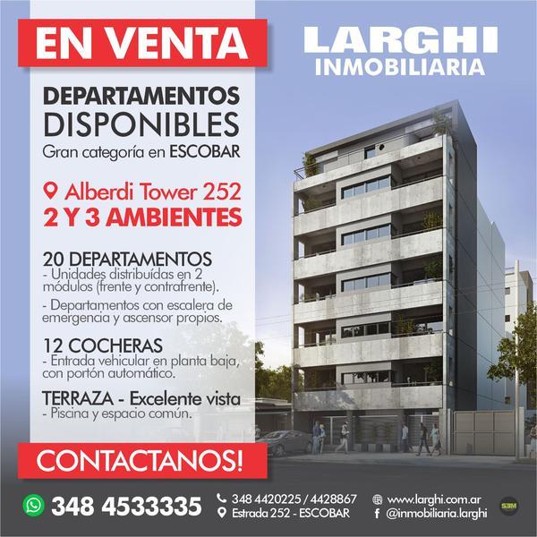 Foto Departamento en Venta en  Belen De Escobar,  Escobar  alberdi 252