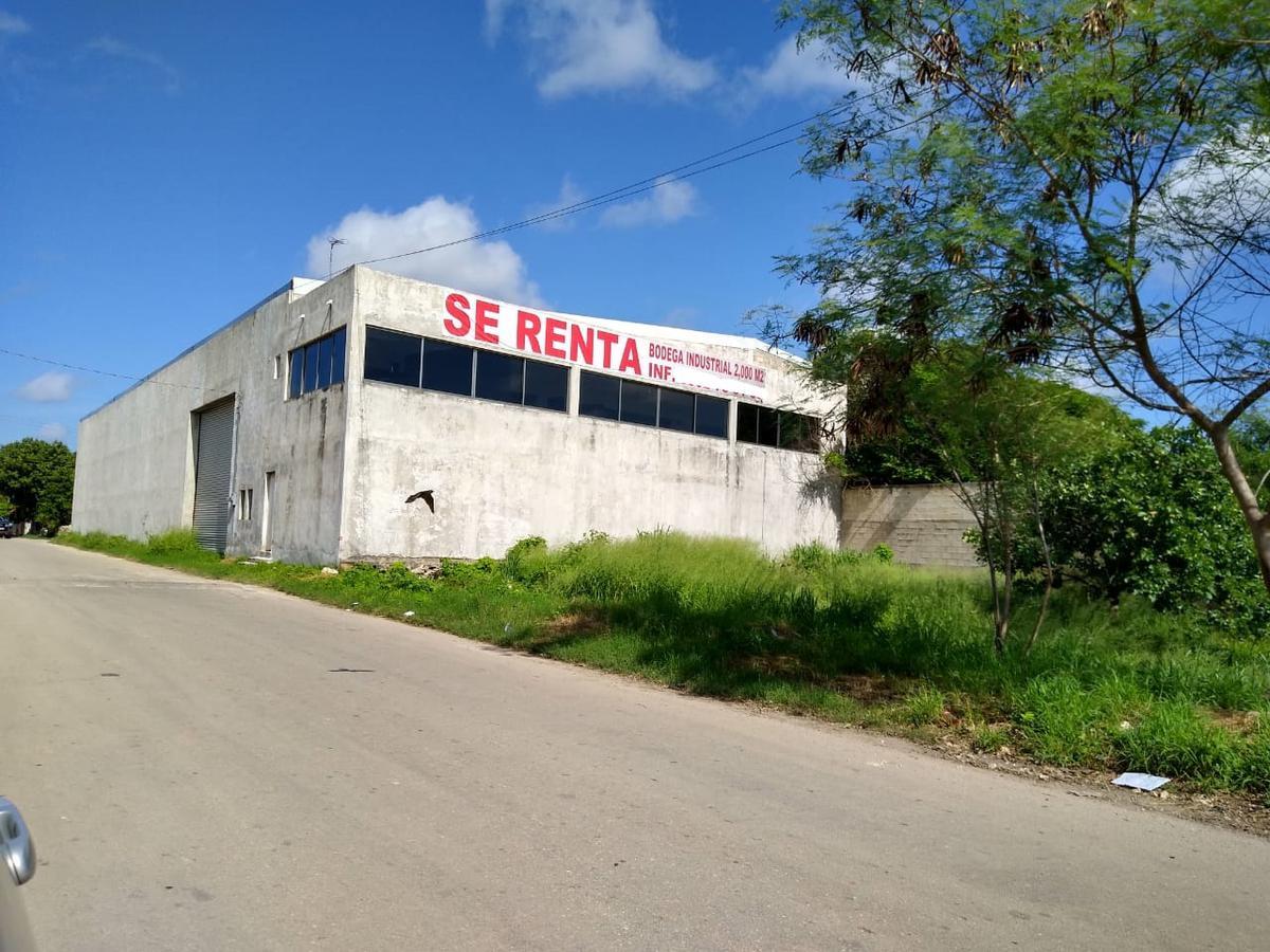 Foto Local en Renta en  Mérida ,  Yucatán  RENTA BODEGA INDUSTRIAL CON EXCELENTE UBICACION LATERAL A PERIFÉRICO