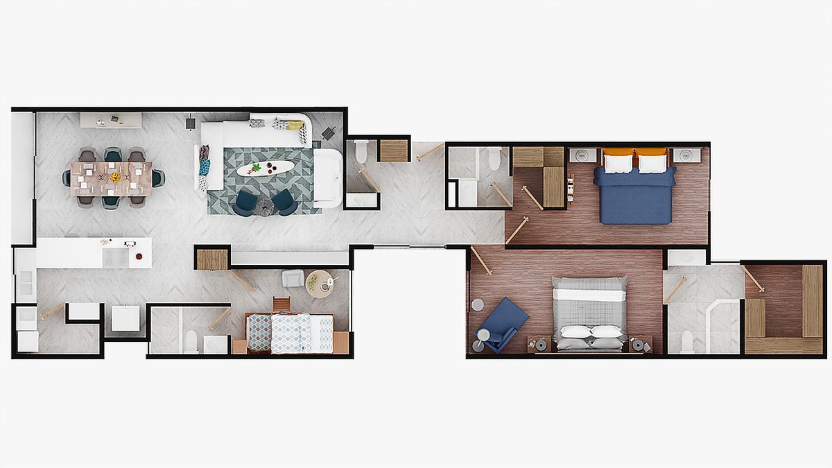 Foto Departamento en Renta | Venta en  Polanco,  Miguel Hidalgo  Lujoso departamento Residencial Lido, Calle Emerson