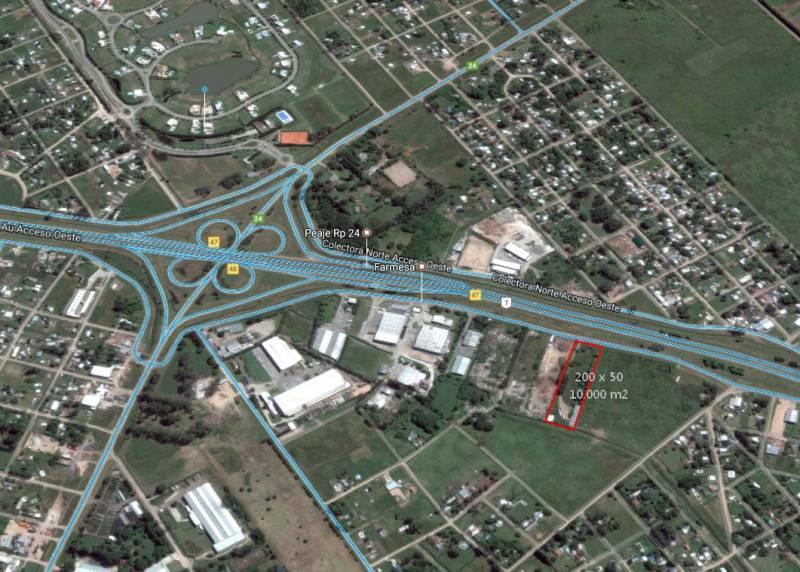 Foto Terreno en Venta en  General Rodriguez ,  G.B.A. Zona Oeste  Colectora Acceso Oeste KM 47 47