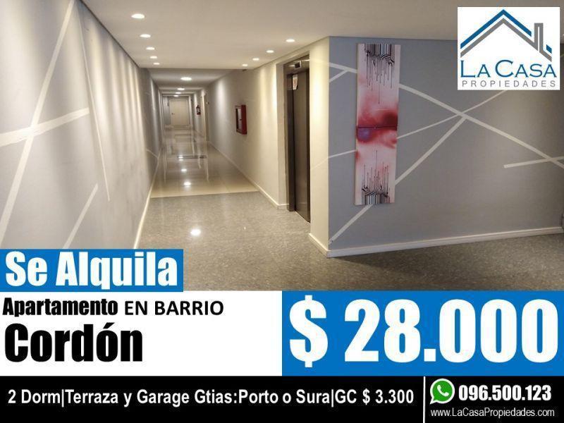 Foto Apartamento en Alquiler en  Cordón ,  Montevideo  DE MARIA, DR PABLO 1200