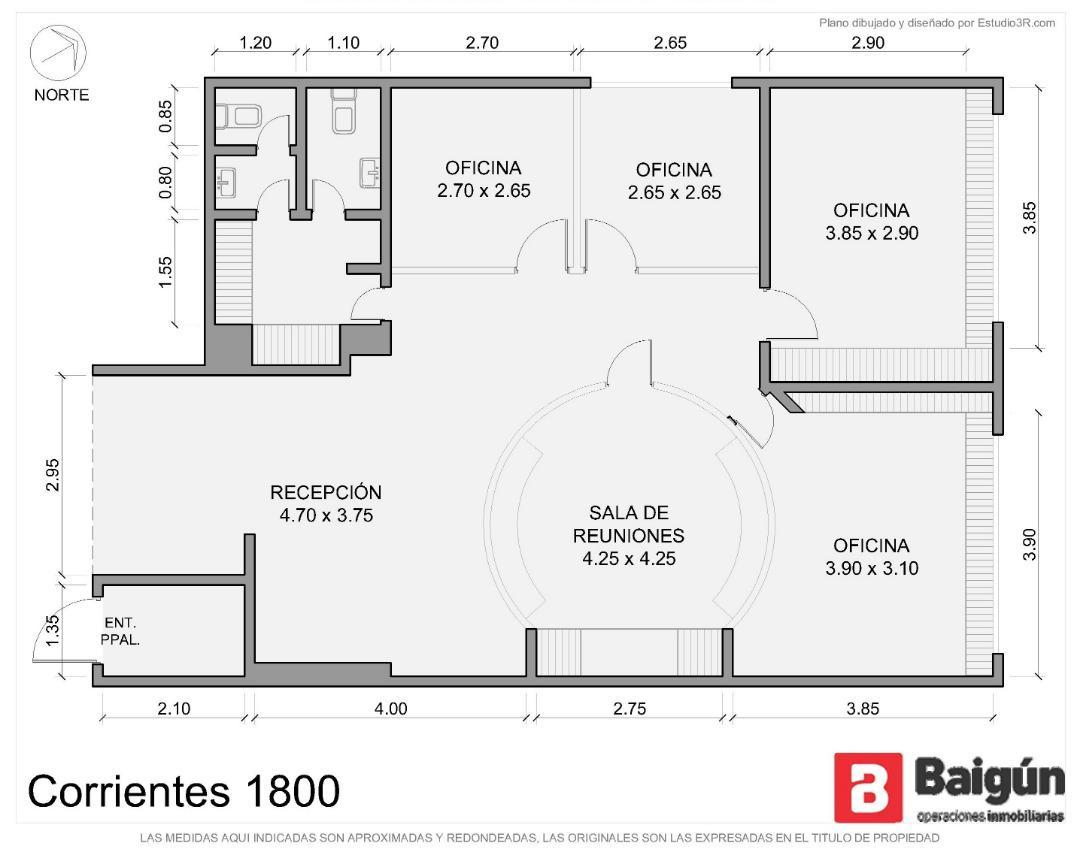Foto Oficina en Alquiler en  Balvanera ,  Capital Federal  Av. Corrientes y Av Callao