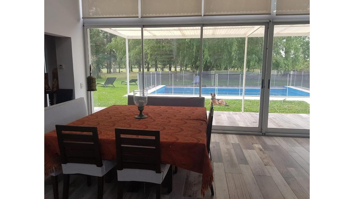 Foto Casa en Alquiler temporario en  Haras Del Pilar,  Countries/B.Cerrado (Pilar)  Haras Del Pilar- La Pradera casa con 6 suite mas piscina disponible temporada diciembre, enero y febrero