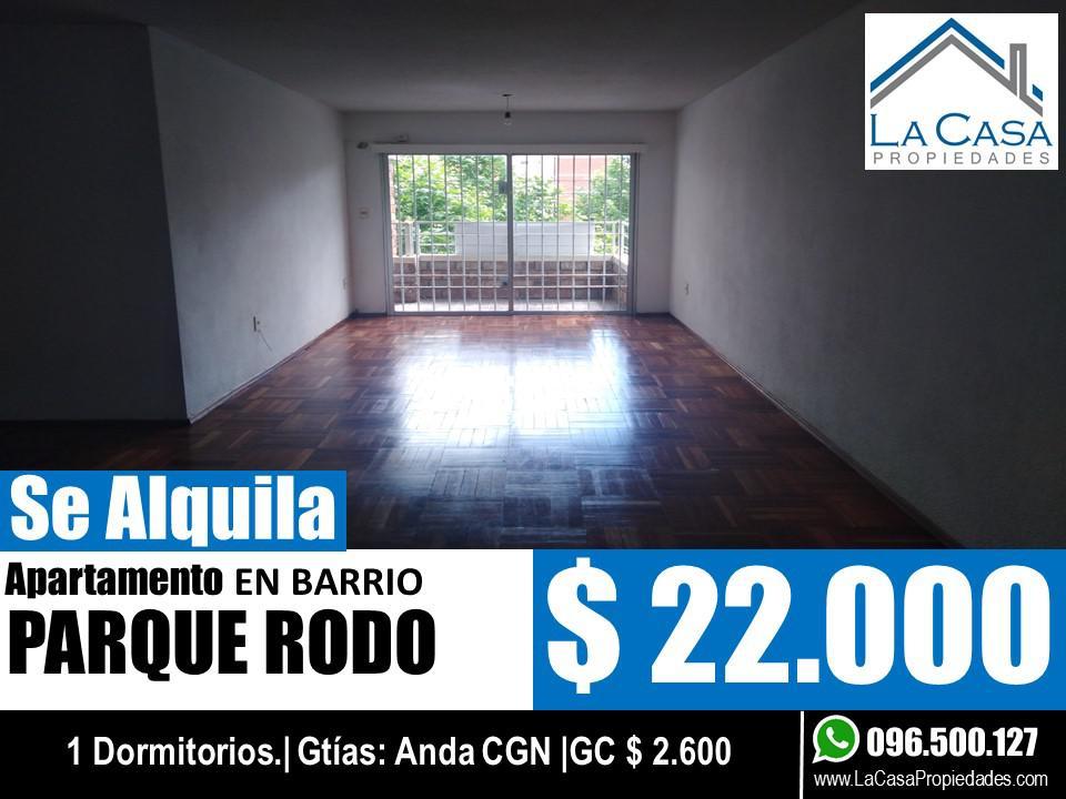 Foto Apartamento en Alquiler en  Parque Rodó ,  Montevideo  Salterain al 1100