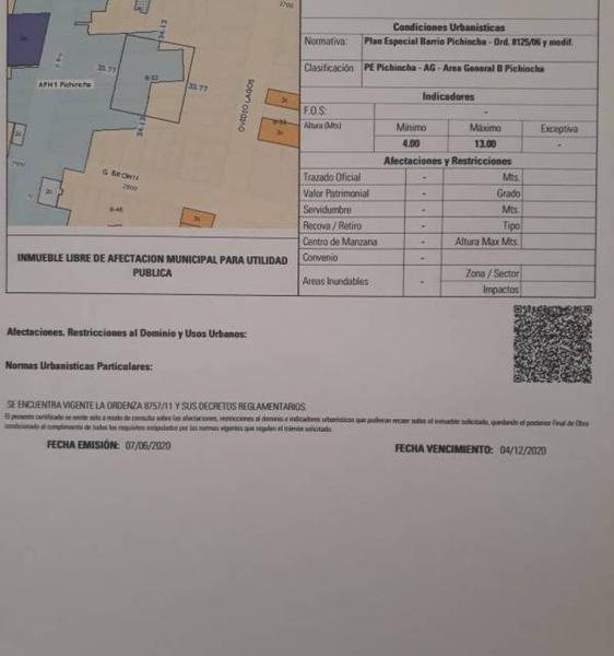 Foto Terreno en Venta en  Pichincha,  Rosario  Guemes 2867 00