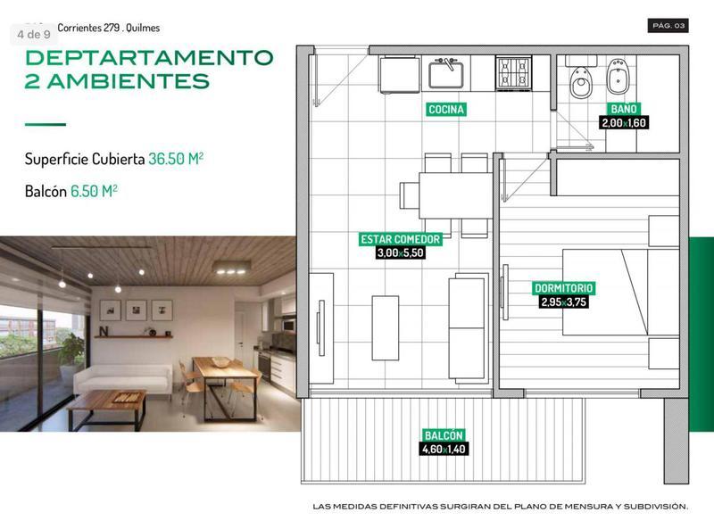 Foto Departamento en Venta en  Quilmes,  Quilmes  Corrientes 279