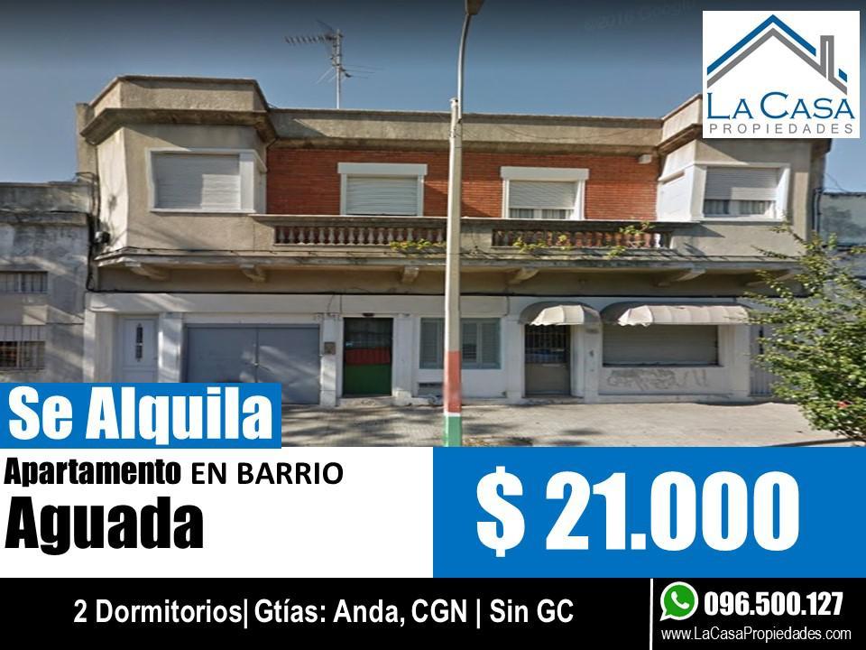 Foto Apartamento en Alquiler en  Aguada ,  Montevideo  Arequita al 2200
