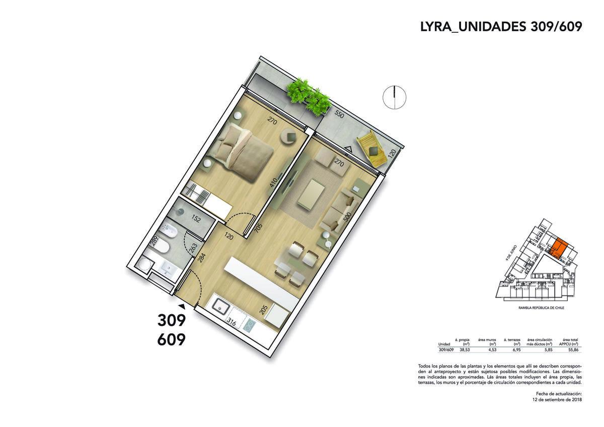 Foto Apartamento en Venta en  Malvín ,  Montevideo  Rambla República de Chile y 9 de Junio