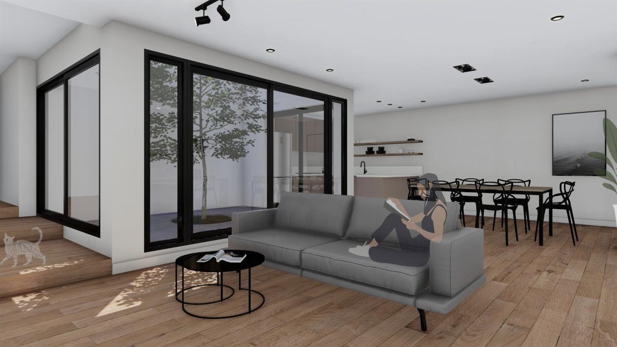 Casa interna 3 dormitorios reciclado a nuevo - Macrocentro