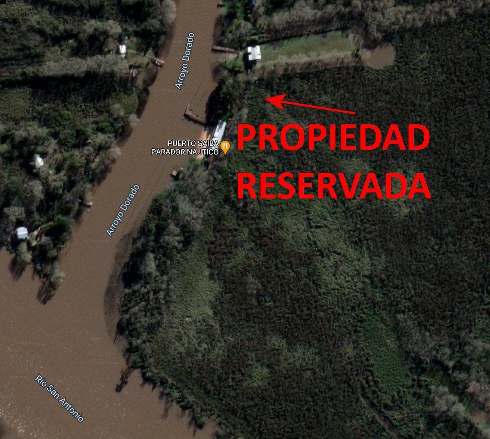 Foto Terreno en Venta en  Dorado,  Zona Delta Tigre  Doradito Parcela 169 Atras de Sai Ba