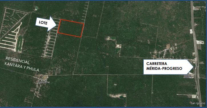 Foto Terreno en Venta en  Yaxkukul ,  Yucatán  Terreno en venta en Yaxkukul, Lotes patrimoniales SAN MODESTO