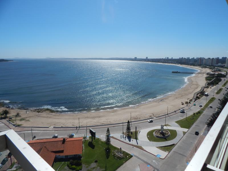 Foto Departamento en Alquiler temporario en  Playa Mansa,  Punta del Este  Espectacular Apartamento al frente en Torreon