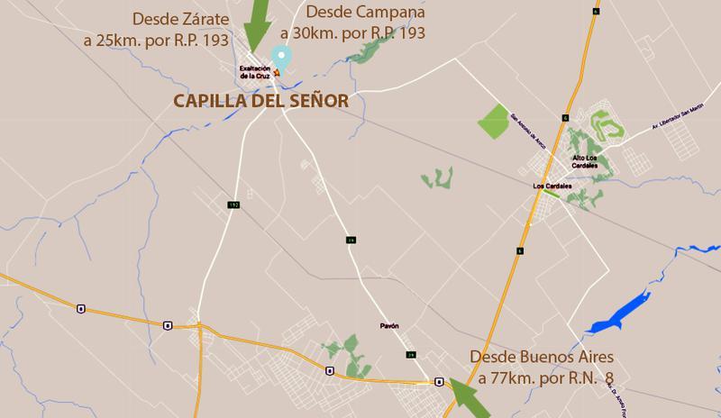 Foto Terreno en Venta en  Capilla Del Señor,  Exaltacion De La Cruz  Barrio Las Marias , Capilla del Señor ''SIN EXPENSAS'' lote 96